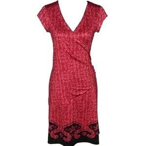 Athleta Nectar faux wrap dress size S